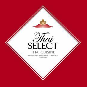 クワンチャイタイ食堂茶屋町店タイ・セレクトに認定されました。